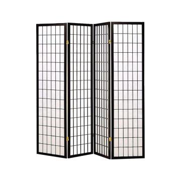 Japán Stílusú 4 paneles térelválasztó paraván