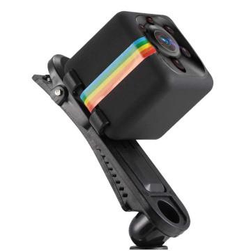Multifunkciós Mini 1080P Full HD kamera, 140 fokos látószög 360 fokban forgó kamera, infravörös lámpa, videó felvétel- 23mm