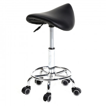 Nyerges, gurulós kozmetikai szék, Fekete