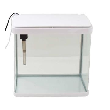 35 literes akvárium szett, lekerekített élekkel, szűrővel és LED világítással (BPS-6226)
