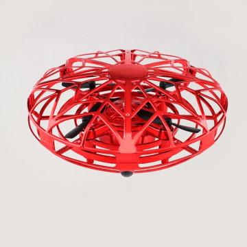 Aircraft mini drón, kéztartással irányítható, piros