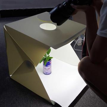 40x40 cm-es, összecsukható fotóstúdió / hordozható fotódoboz, fotósátor