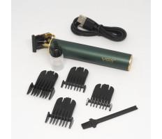 Akkumulátoros hajtrimmelő / négy fejjel / zöld
