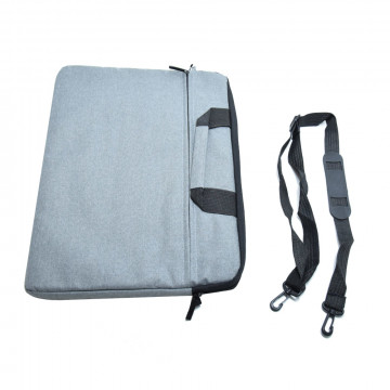 Laptop táska, tok – szürke – 15