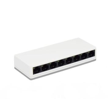 PIX-LINK 8 portos asztali hálózatmegosztó – Deskop Switch 10/100Mbps