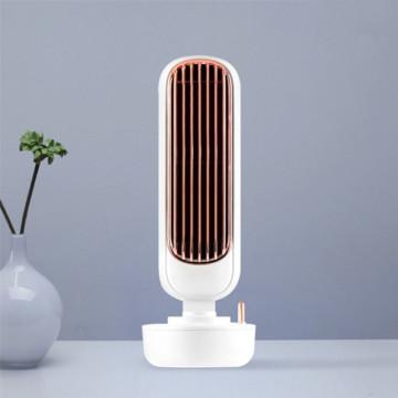 Retro asztali vízködös ventilátor torony – párásító és légkondicionáló / fehér