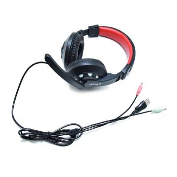 4 részes gamer szett – egér, egérpad, fülhallgató, billentyűzet