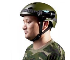 Sisakra és kormányra rögzíthető, vízálló HD akciókamera / sportkamera