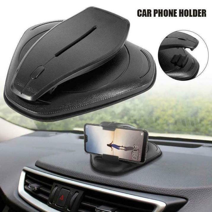 Hordozható telefontartó autóba – műszerfalra illeszthető / stabil és biztonságos (186)