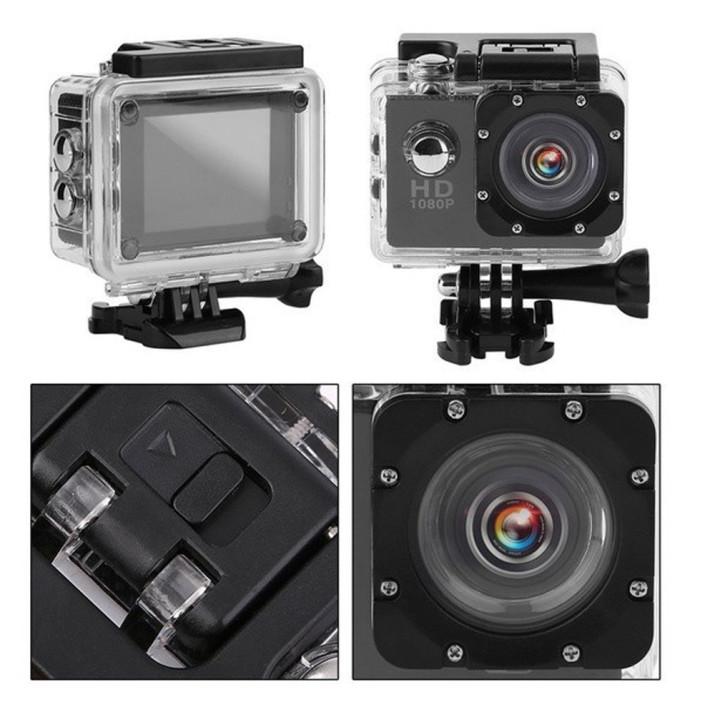 HD vízálló akciókamera és fényképezőgép / Wi-Fi sportkamera 170°-os látószöggel
