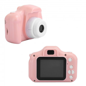 Digitális gyerek fényképezőgép – rózsaszín
