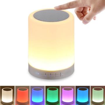 Bluetooth hangszóró színváltós hangulatvilágítássa...