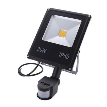 Mozgásérzékelős 30W CREE LED energiatakarékos reflektor