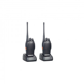 2 db kétirányú kézi UHF/VHF rádió / adóvevő