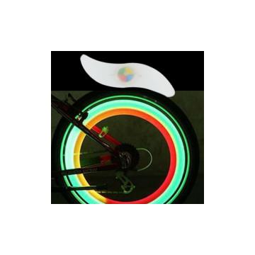 Multicolor LED küllővilágítás / macskaszem kerékpárra