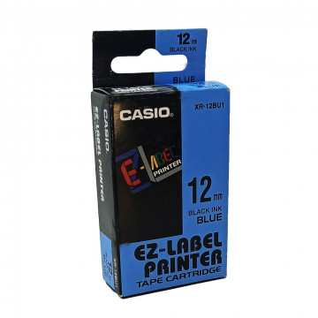 Casio XR 12 BU1 Címkéző szalag