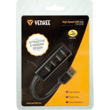 YENKEE YHB 4001BK 4 X USB 2.0 HUB