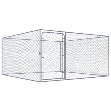 Kültéri horganyzott acél kutyakennel 2 x 2 x 1 m - utánvéttel vagy ingyenes szállítással