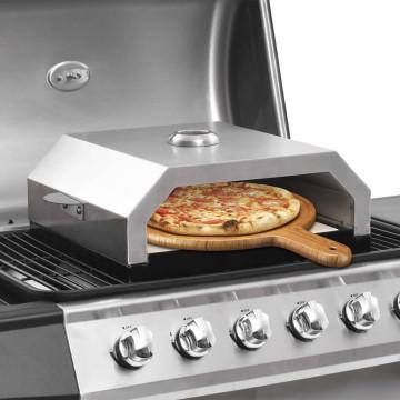 Pizzasütő kerámialappal gázüzemű/faszenes grillezőhöz - utánvéttel vagy ingyenes szállítással