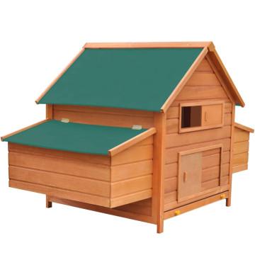 Fa tyúkól 157 x 97 x 110 cm - utánvéttel vagy ingyenes szállítással