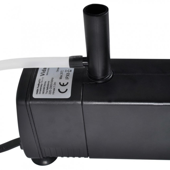 Akvárium Szűrőpumpa Aktív Szénnel 600L / óra - utánvéttel vagy ingyenes szállítással
