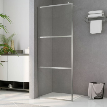 Zuhanyfal átlátszó ESG üveggel 100 x 195 cm - utánvéttel vagy ingyenes szállítással