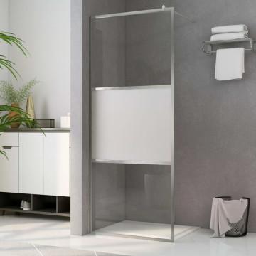Zuhanyfal selyemmatt ESG üveggel 115 x 195 cm - utánvéttel vagy ingyenes szállítással