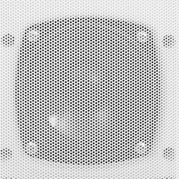 2 db fehér bel- és kültéri fali sztereó hangszóró 80 W - utánvéttel vagy ingyenes szállítással
