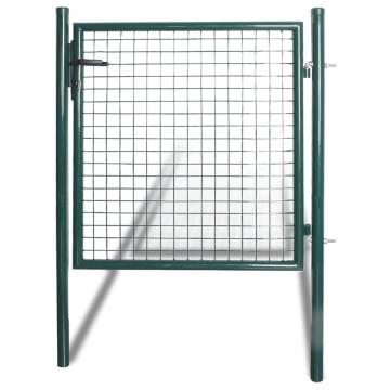 Porszórt acél kerítés kapu - utánvéttel vagy ingyenes szállítással
