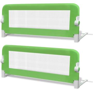2 db zöld biztonsági leesésgátló 102 x 42 cm - utánvéttel vagy ingyenes szállítással