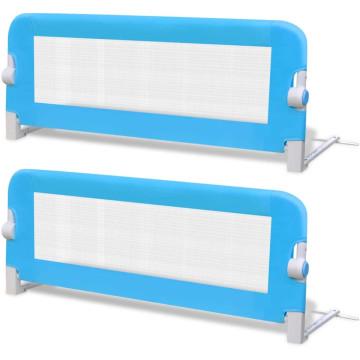2 db kék biztonsági leesésgátló 102 x 42 cm - utánvéttel vagy ingyenes szállítással
