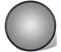 Konvex beltéri közlekedési tükör fekete akril 30 cm - utánvéttel vagy ingyenes szállítással