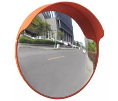 Konvex kültéri közlekedési tükör narancssárga polikarbonát 45 cm - utánvéttel vagy ingyenes szállítással