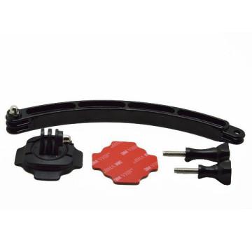 iTotal GP113 360 fokos rögzítőkar sisakhoz, fekete 1268107