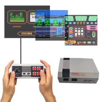 Retro Mini konzolkészlet 620 játékkal, két vezérlővel
