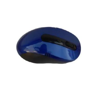 2.4GHz laptop+computer vezeték nélküli optikai egér kék