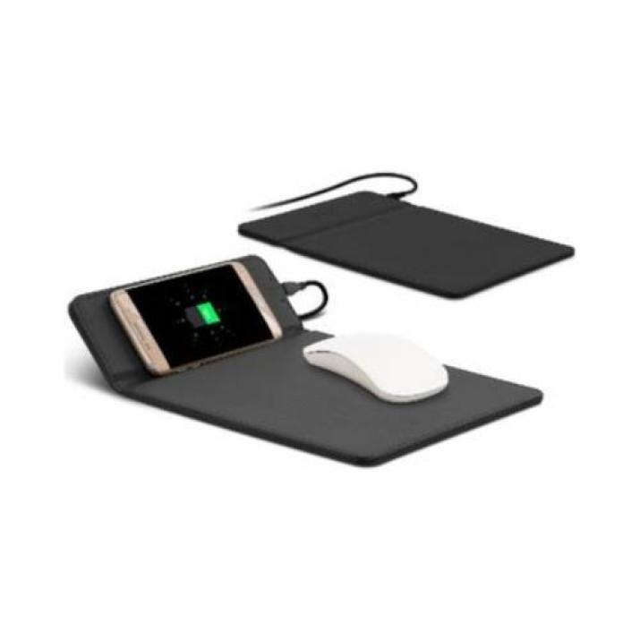 Egérpad beépített Wireless vezeték nélküli töltő funkcióval
