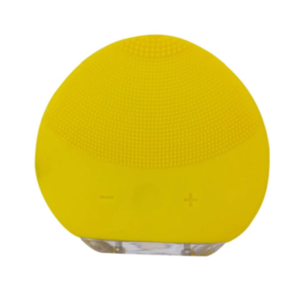 Forever Lina pórus és arctisztító szilikonpárna beépített akkumulátorral.  - Sárga színben - MS-120